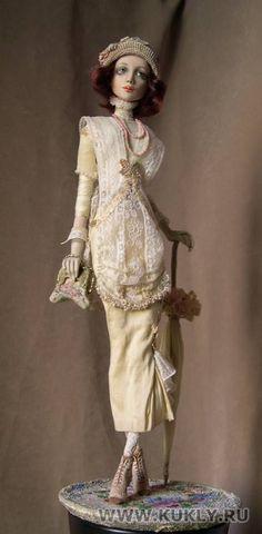 Art Dolls by Irina Deineko - Ira Deineko - Picasa Web Albums Clay Dolls, Bjd Dolls, Doll Toys, Pretty Dolls, Beautiful Dolls, Paperclay, Doll Maker, Ball Jointed Dolls, Antique Dolls