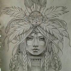 Her head piece