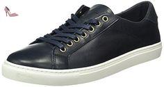 Tommy Hilfiger M2285OUNT 4A2, Baskets Basses Homme, Bleu-Bleu Nuit (403), 45 EU - Chaussures tommy hilfiger (*Partner-Link)