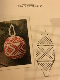 Christmas Balls, Christmas Crafts, Christmas Decorations, Christmas Ornaments, Christmas Knitting Patterns, Crochet Patterns, Knit Crochet, Crochet Hats, Knitting Stiches