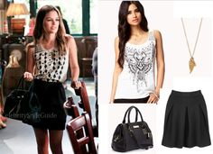 "Rachel Bilson wore this cute outfit in the Hart of Dixie episode ""Friends in Low Places""."