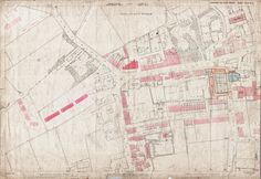 Old Ordnance Survey Map 217-6-9 Pudsey, Farsley and Stanningley, Yorkshire in 1891