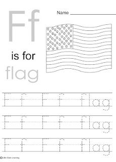 Little Stars Learning: Flag Day w/printables