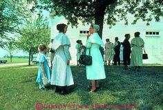 German Baptist social after church .. OH