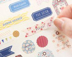 6 sheets, petit deco sticker, Planner Sticker, planner accessories, cute, kawaii, Weekend Planner, Sticker set, Filofax, Diary, Calendar