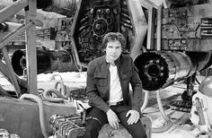 harrison ford empire strikes back set photo star wars