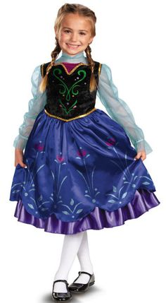 Girl s Disney Frozen Anna Costume c537901a2b7