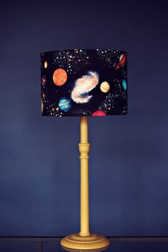 Planet lampshade stars lamp shade space by ShadowbrightLamps