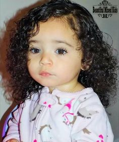 Italian and African American - 22 months old Cute Little Baby, Little Babies, Cute Babies, Baby Kids, Black Babies, Mix Baby Girl, Cute Baby Girl, Baby Swag, Kid Swag
