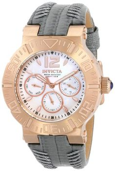 Women's Wrist Watches - Invicta Womens 14748 Angel Analog Display Swiss Quartz Grey Watch -- You can find more details by visiting the image link.