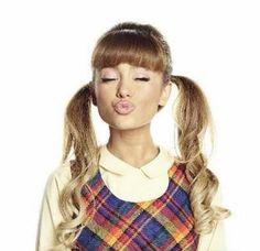 @arianagrande63 ariana grande as penny pingleton ♡