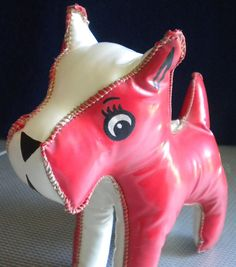 Vintage Pink Scottie Dog
