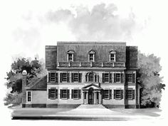 Colonial House Plan with 3401 Square Feet and 5 Bedrooms(s) from Dream Home Source | House Plan Code DHSW18668...classic with in law sweet :)