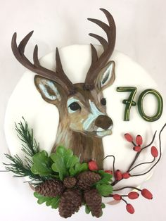 Jäger Hirsch Torte Cake Hunter deer