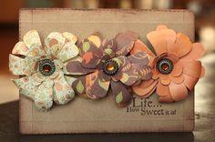 Samantha Walker's Imaginary World: Spiral Flower Tutorial with New Silhouette Designs!