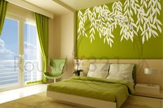 Wall Decal for The Home With Vines  Bedroom and /Or by Round321