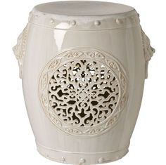 InStyle Decor.com Beverly Hills Beautiful Chinese Garden Stools / Side  Tables Inspiring Interior