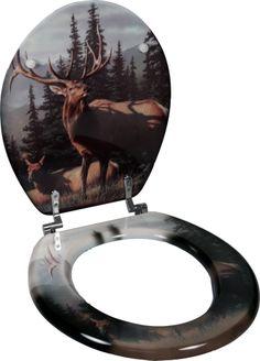 Toilet Seat - Elk MDF
