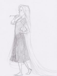 Rapunzel, by Burdge-bug. I really love her style of drawing. :)