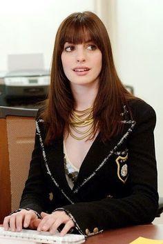 Hair Style...em o Diabo veste Prada..amo!ela é linda e está linda...cabelo perfeito!