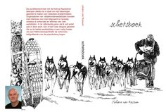 Sketchbook, a collection of drawings I made on sleddogs, baseball, archery and illustrations for the books I wrote