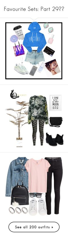 """""""Favourite Sets: Part 29❣️"""" by moon-crystal-wolff ❤ liked on Polyvore featuring adidas Originals, T By Alexander Wang, Enduring Jewels, Essie, The Gypsy Shrine, claire's, Agent 18, Bella Loco, Ottolinger and TOMS"""