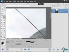 ▶ Photoshop Elements 12 Training Tutorial - How to Recompose a Photo Using Recompose Tool - YouTube