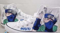 OH MY GOODNESS I ABASLUTEY NEED THESE SHOES KAKASHI IS MY FAVORITE CHARACTER IN NARUTO!!!!!!! OMGOSH OMGOSH OMGOSH I NEED THESE BADLY
