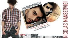 Nicolás Manservigi presenta su primer CD