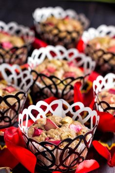 Sugar free rhubarb oatmeal muffins