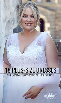 18 Plus-Size Wedding Dresses: A Jaw-Dropping Guide ❤ We have selected beautiful plus-size wedding dresses! See more: http://www.weddingforward.com/plus-size-wedding-dresses/ #weddings #dresses Photo: Leah S Designs http://www.leahsdesigns.com.au/