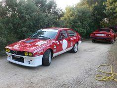 Alfa Romeo Gtv6, Car, Automobile, Vehicles, Cars, Autos