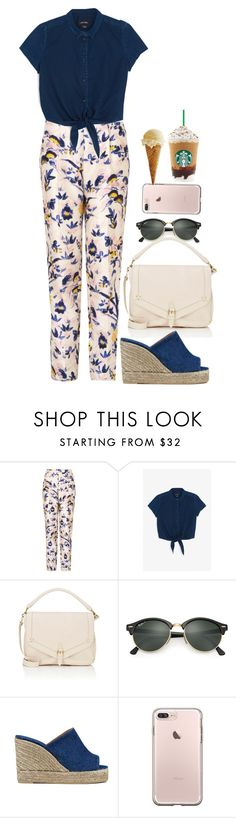 """""""Sin título #436"""" by nare-861 ❤ liked on Polyvore featuring L.K.Bennett, Monki, Jérôme Dreyfuss, Ray-Ban and Castañer"""