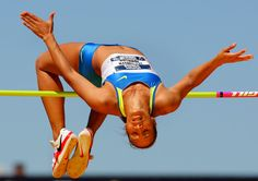 Germany Olympic Champions Card Reasonable Price Humor #25 Ulrike Meyforth