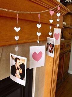 Интерьер на День Святого Валентина