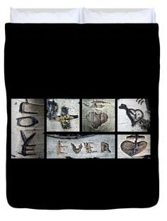 "Love written in the trees 2 Queen (88"" x 88"") Duvet Cover by Tamara Kulish"