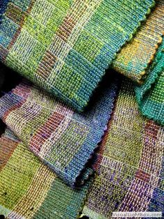 log cabin weave rag rug - Google Search