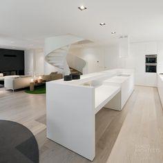 Moderne Innenarchitektur im minimalistischen Stil - 50 Ideen von Tamizo Arch.