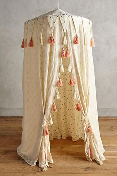 Fanciful Play Tent would be dreamy hanging from a tree outside Cumpleaños Shabby Chic, Bebe Love, Play Kitchens, Little Girl Rooms, Vintage Textiles, Kid Spaces, Diy For Kids, Kids Bedroom, Baby Room