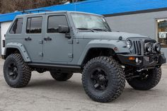 Want! Want! Want! 2015 Line-X Jeep Wrangler Unlimited | Rubitrux Boone