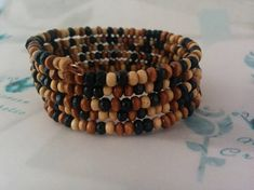 Your place to buy and sell all things handmade Perfect Mother's Day Gift, Wooden Beads, Fathers Day Gifts, Birthday Gifts, Best Gifts, Beaded Bracelets, Unisex, Autumnal, Etsy Handmade