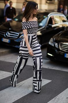 See the best street style looks from Milan Fashion Week Spring/Summer 2016 Best Street Style, Cool Street Fashion, Street Style Looks, Street Chic, Spring Summer, Summer 2016, Spring 2016, Estilo Street, Jessica Parker