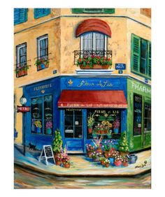 Marilyn Dunlap. French flower shop