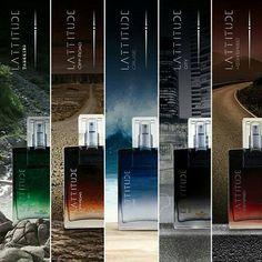 Lançamento Hinode 2016 - Perfume LATTITUDE - Masculino :: Hinode