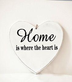 Sydänkyltti Home is 14 cm Where The Heart Is, Enamel, Home, Vitreous Enamel, Ad Home, Enamels, Homes, Tooth Enamel, Haus