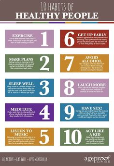 Top ten habits of healthy people mindfullness здоровье, йога Healthy Lifestyle Tips, Healthy Living Tips, Healthy Habits, Healthy Tips, How To Get Healthy, Ways To Be Healthier, Healthy Quotes, Healthy Drinks, Health Goals