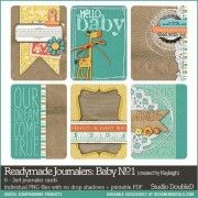 $3.99 Readymade Journalers: Baby No. 01