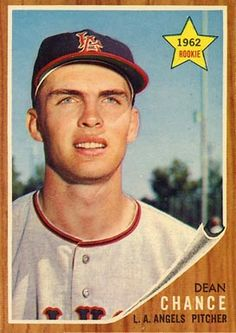 1962 Topps Dean Chance