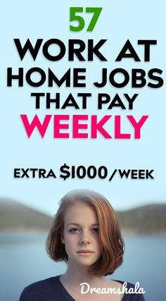 51 work from home companies that pay weekly. Want to make some extra cash from home every week? Check the below list of companies to make money every week. Cash From Home, Earn Money From Home, Earn Money Online, Online Jobs, Way To Make Money, Online Income, Money Fast, Online Earning, Online Sales