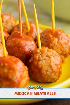 Try tossing your pre-cooked meatballs in our Mild Taco Sauce for extra flavor. Get the full scope on our recipe page. Mexican Dishes, Mexican Food Recipes, Beef Recipes, Cooking Recipes, Appetizers For Party, Appetizer Recipes, Snack Recipes, Snacks, Other Recipes